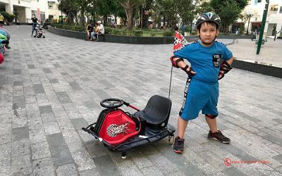 Xe Điện trò chơi Razo Crazy Cart, thương hiệu đến từ Mỹ