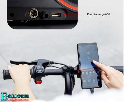Xe scooter điện Gấp Gọn Xenon CS-P01 | Xe Điện Xếp Gọn Bỏ Tốp Ôtô