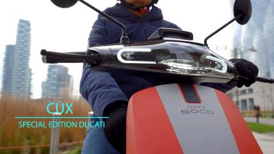 Xe Scooter Điện Super Soco CUX Ducati Edition 2021 Cao Cấp