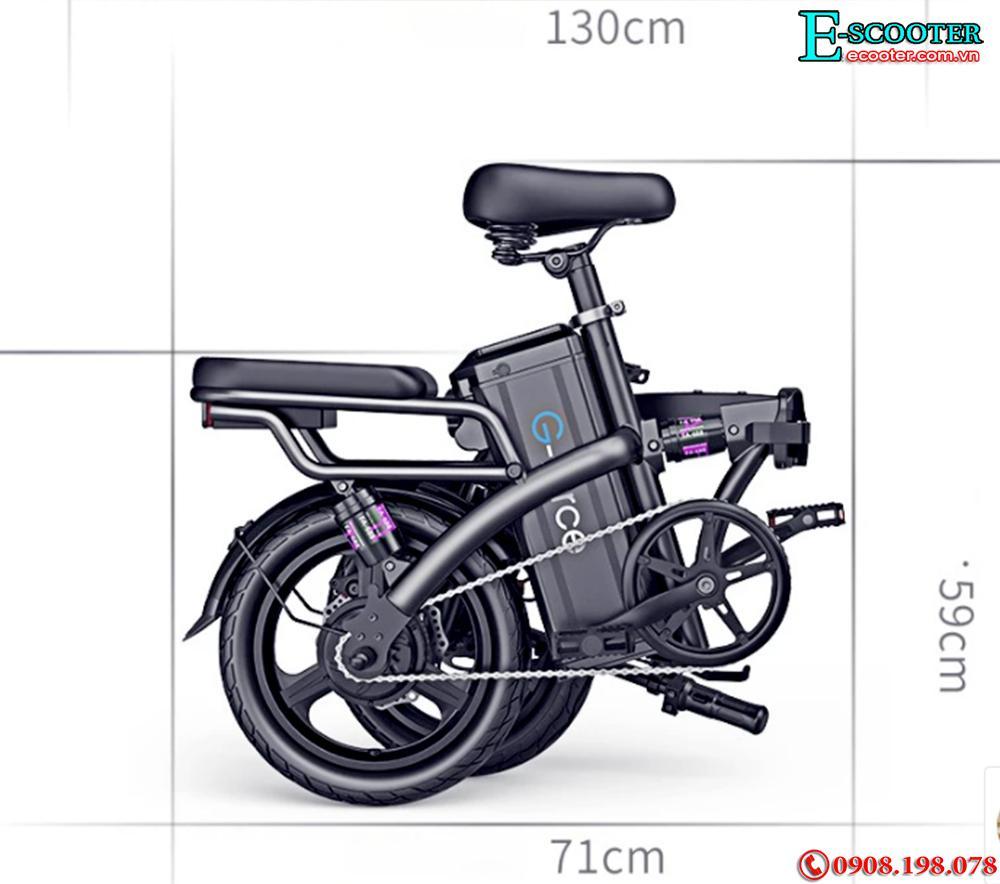 Xe đạp điện trợ lực gấp gọn G-Force C14 - 400W