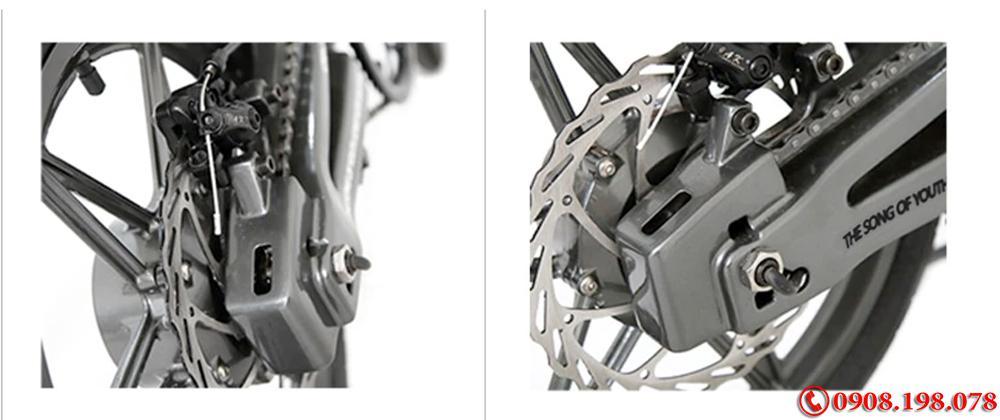 Xe Điện Gấp Gọn CFD3 Trợ Lực Điện, hợp kim magie 16 inch