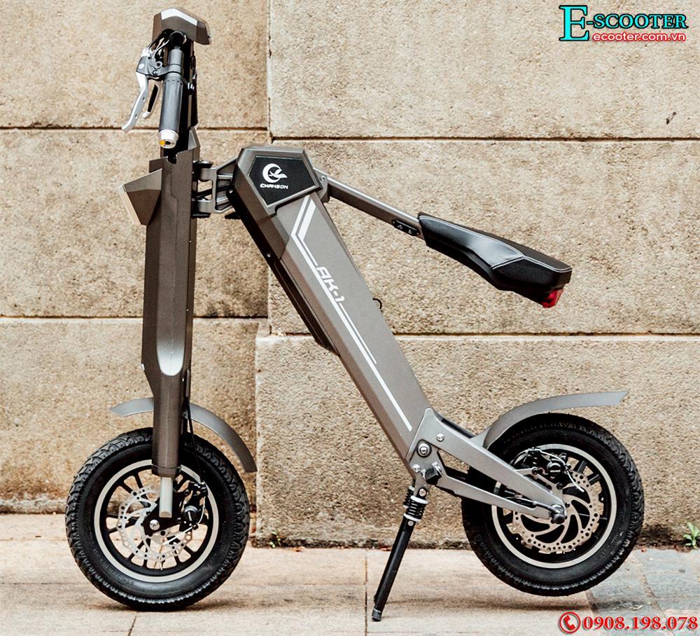 Xe điện gấp tự động AK1 - 350W, chạy 50km 1 lần sạc