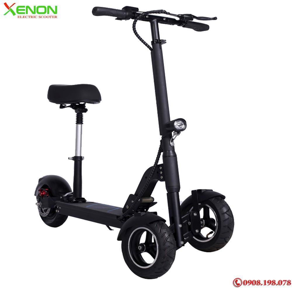 Xe  xe điện bánh kép 3 bánh Xenon X10  chất lượng cao,  hàng hãng