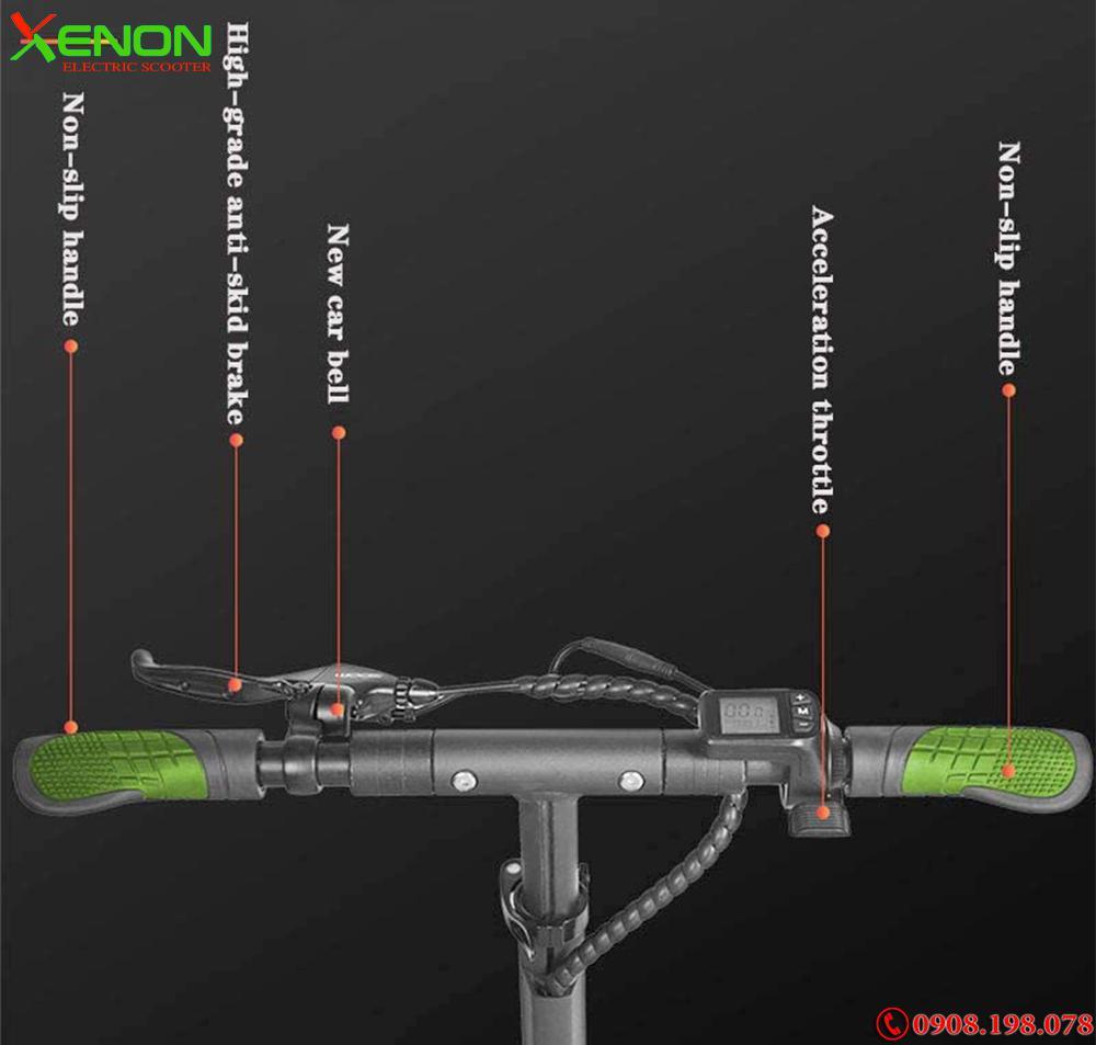 Xe  xe điện bánh kép 3 bánh Xenon X10  hàng hiệu,  ngay hãng