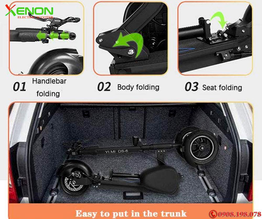 Xe  xe máy điện 3 bánh Xenon X10  chất lượng cao,  hàng hãng
