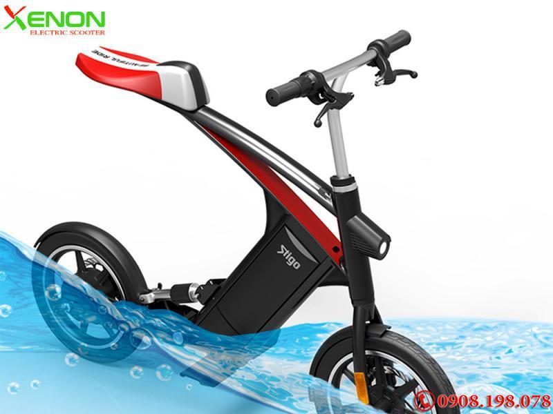 Xe  xe máy điện Gấp Gọn, Stigo B1, 250W 2021, Xe Điện Sinh Viên