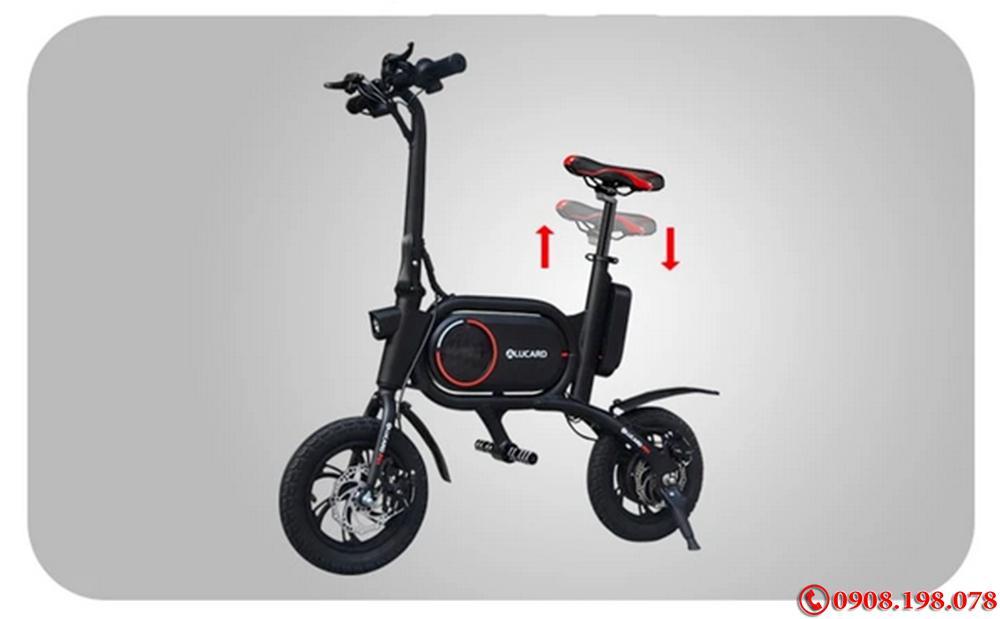 Xe scooter điện Gấp Gọn Xenon CS-P01   Xe Điện Xếp Gọn Bỏ Tốp Ôtô
