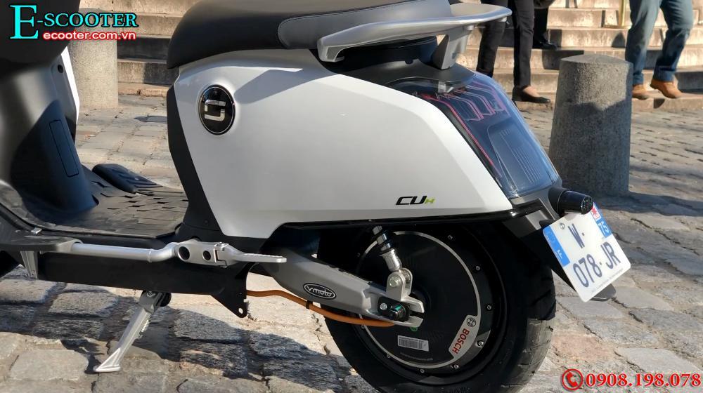 Xe  xe điện mini Super Soco Cux 2700W- Chạy 75km 1 Lần Sạc