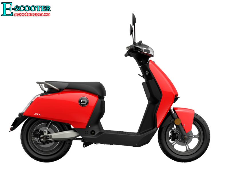 Xe Scooter Điện Super Soco Cux 2700W- Chạy 75km 1 Lần Sạc
