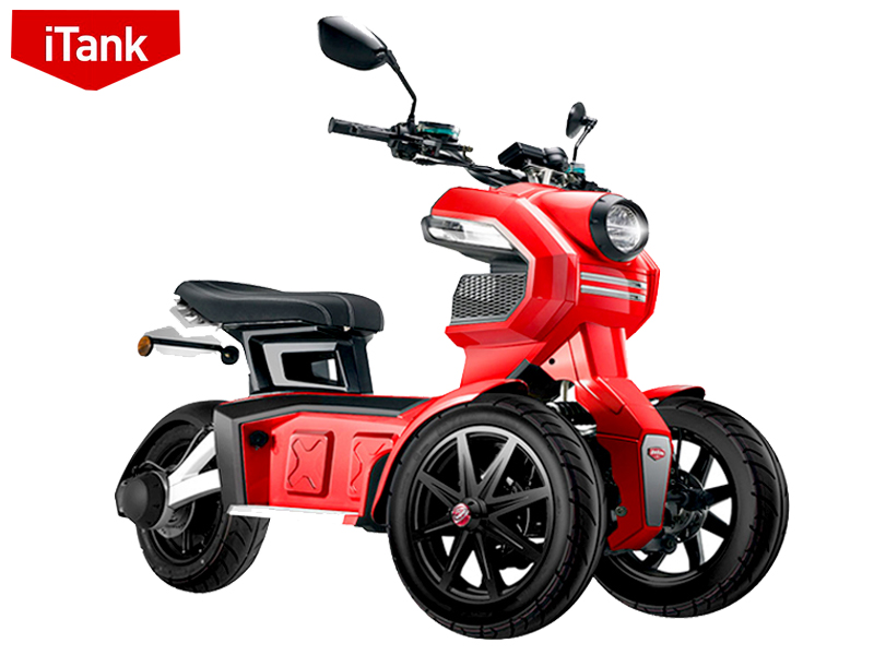 Xe tay ga điện 3 bánh ITank 2021 | xe điện bánh kép
