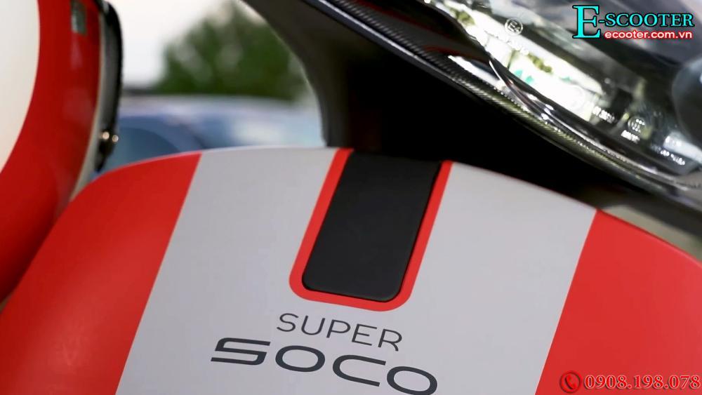 Xe tay ga điện cao cấp Super Soco Cux Ducati Edition 2021