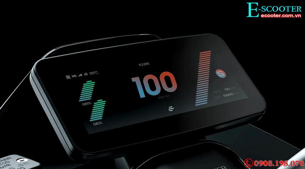 Xe tay ga điện Ecooter E5 5,400W chạy 200Km 1 lần sạc